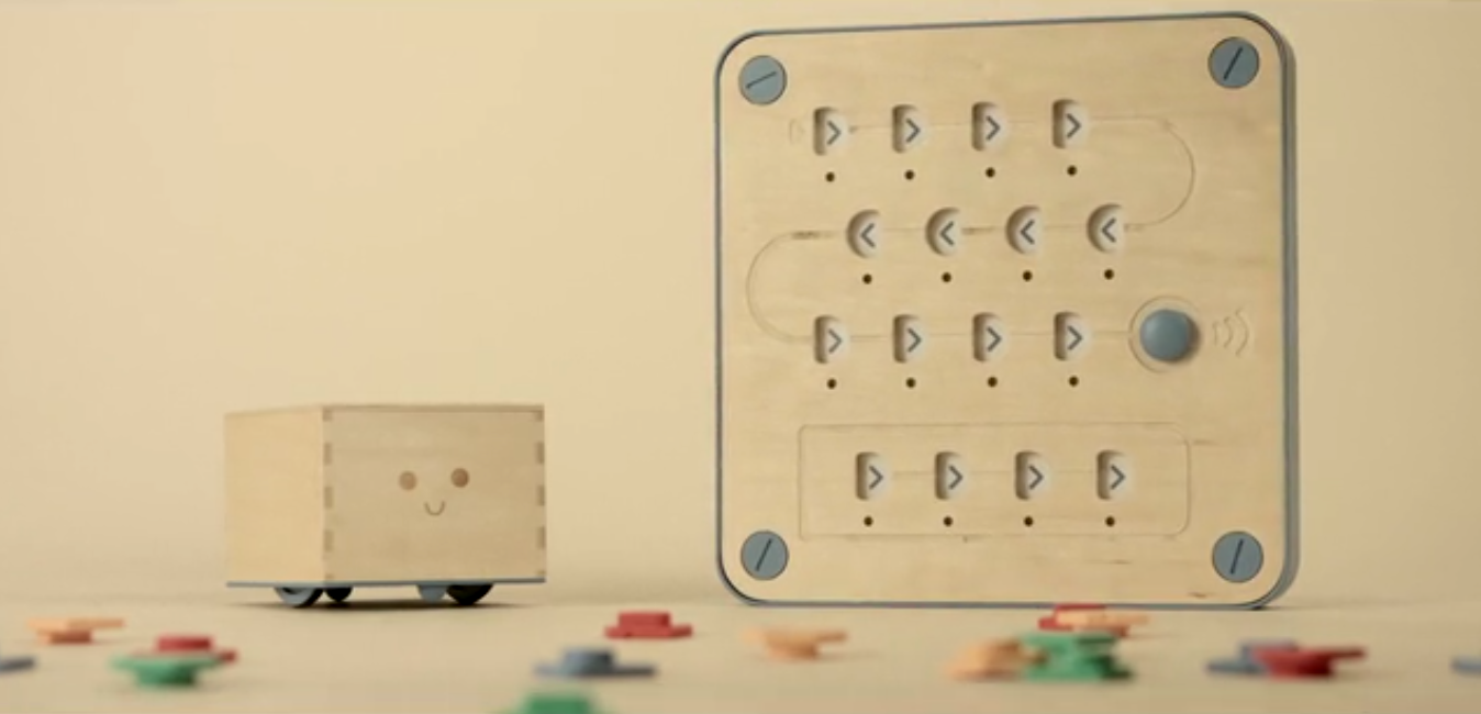 Cubetto Hands on coding for ages 3 and up by Primo Toys Kickstarter