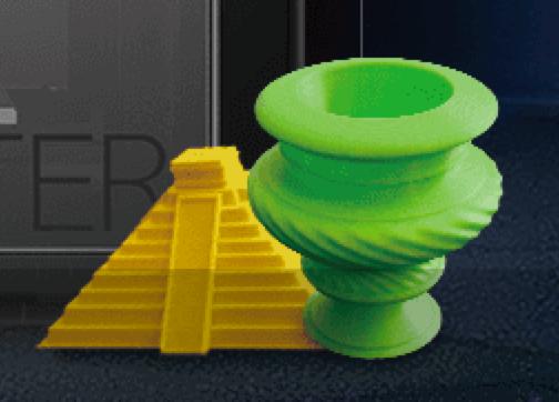 ダヴィンチ 1 0 Pro 3DプリンターのXYZプリンティング