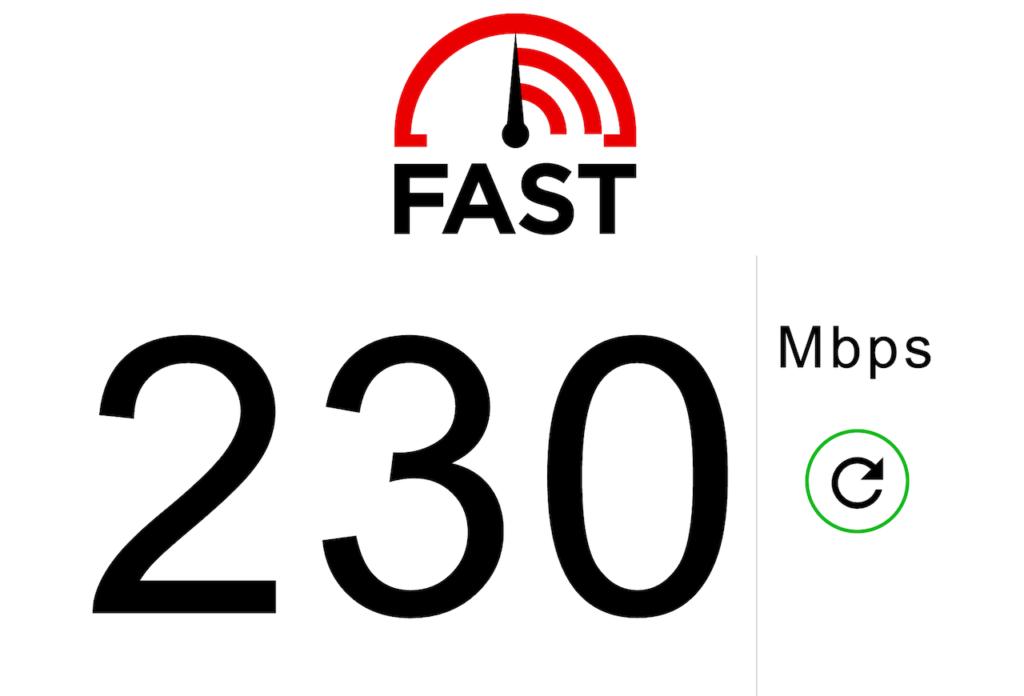 有線LAN速度