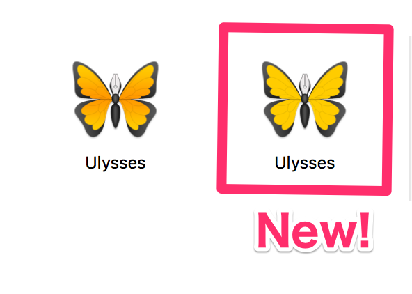Ulyssesアイコン
